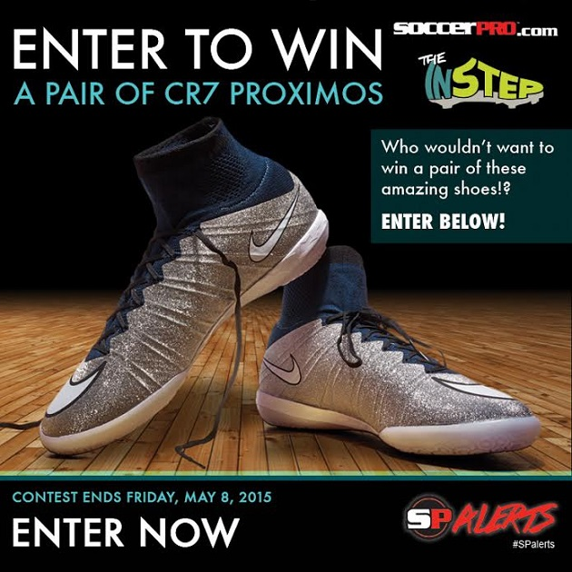 Nike Proximo giveaway graphic