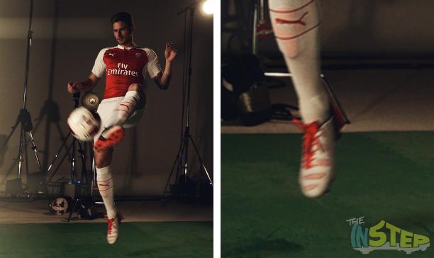 Oliver Giroud Arsenal Puma evoPOWER edited