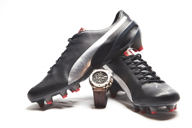 Puma Falcao Hublot evoSPEED w/ watch