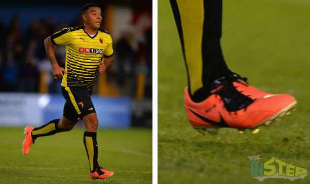 Troy Deeney Watford T90 Laser IV edited