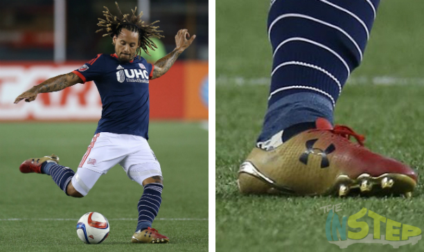 Jermaine Jones New England Revolution custom UA Clutchfit edited