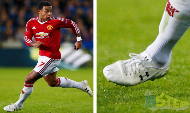 Memphis Depay Manchester United UA Clutchfit leather edited