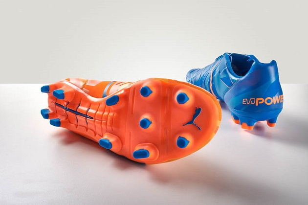 evoPOWER blue and orange Puma Tricks