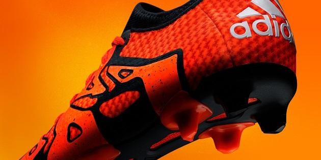 Orange adidas X Primeknit