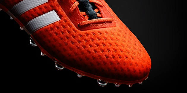 Orange adidas ACE Primeknit