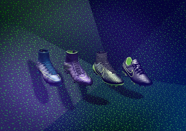 Nike Debuts Volt Splattered Electro Flare Pack The Instep