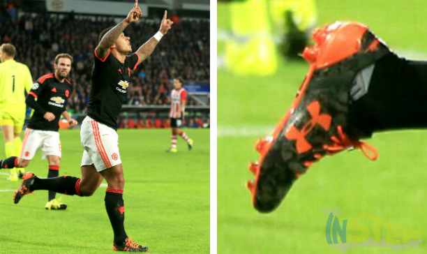 Memphis Depay Man Utd UA Speedform edited