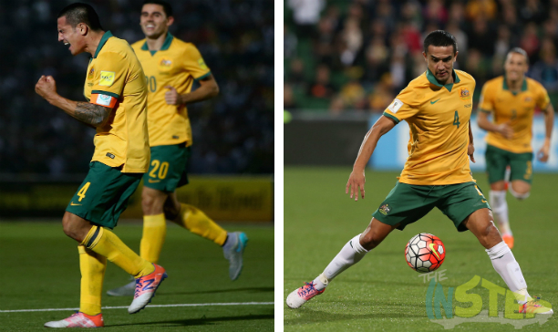 Tim Cahill combination photo