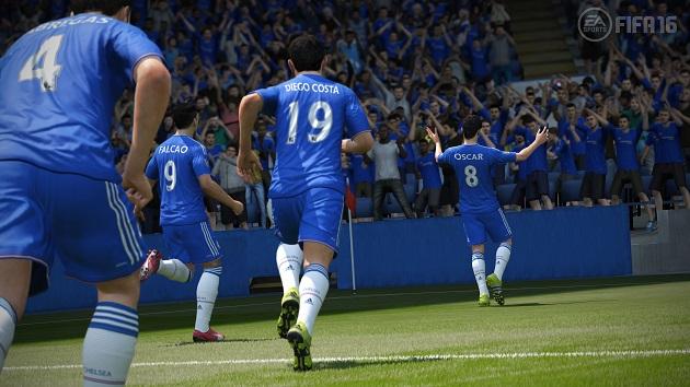 Chelsea on FIFA16