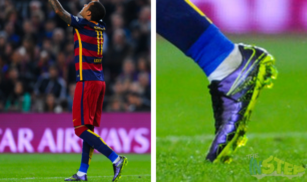 Neymar Barcelona custom Vapor X edited