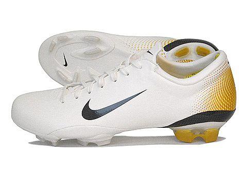 Nike Mercurial Vapor III White:Gold