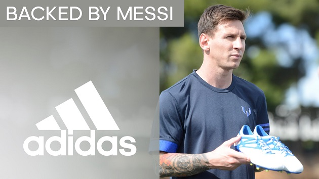adidas Backed By Messi