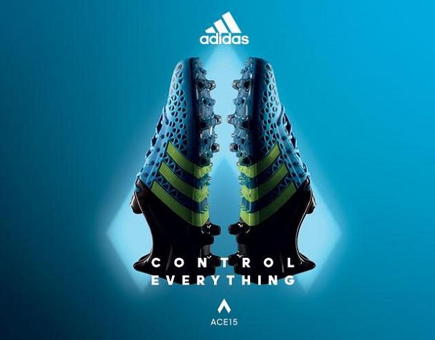 Blue adidas ACE 15.1