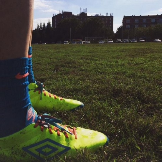 Play test of Umbro Velocita
