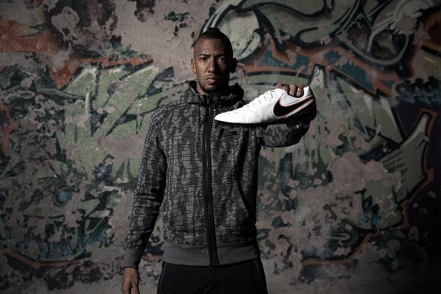 Boateng with Nike Tiempo Legend VI