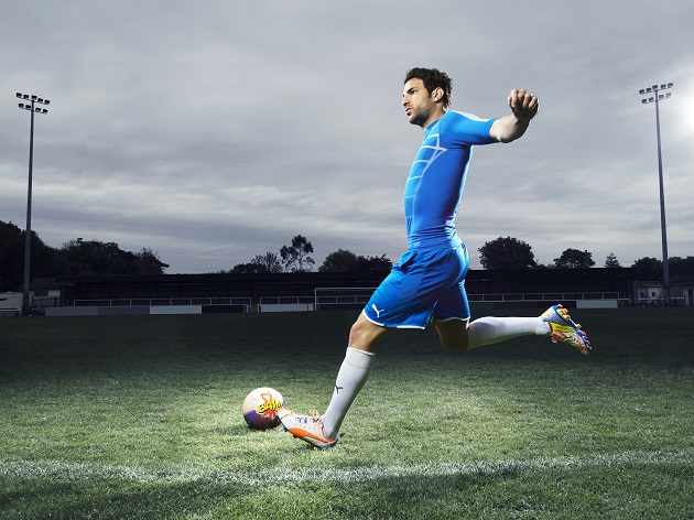 Fabregas in POW evoPOWER