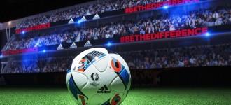 Zidane Shows Off adidas Euro 2016 Match Ball