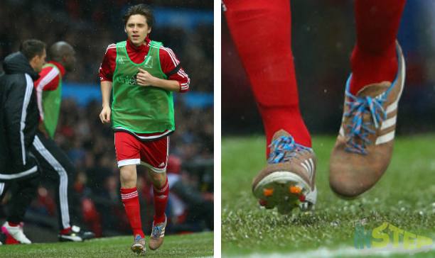 Brooklyn Beckham Great Britain and Ireland Primeknit edited