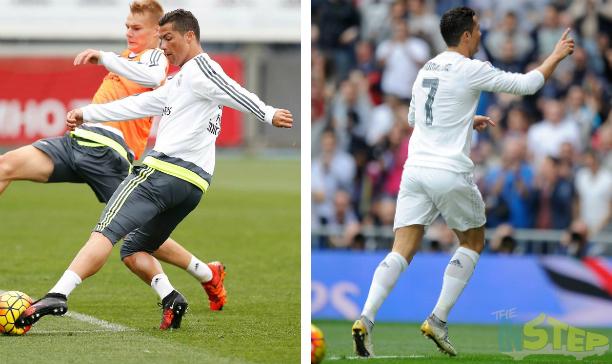 Cristiano Ronaldo Real Madrid SF IV CR7 edited
