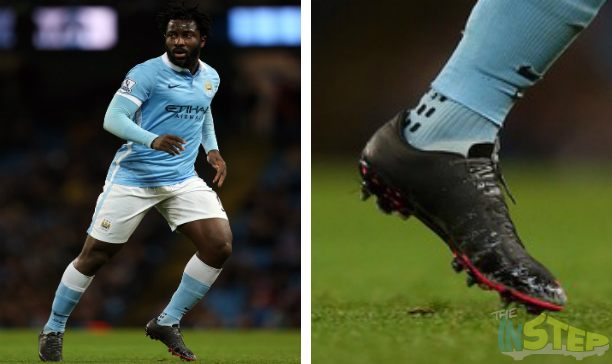 Wilfried Bony Manchester City custom Vapor X edited