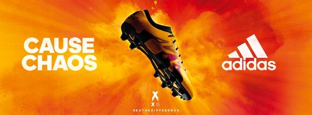 adidas X 15 - Solar Gold