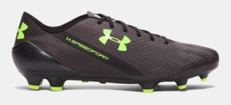 Under Armour Open 2016 with Black/Hi-vis Yellow Boots