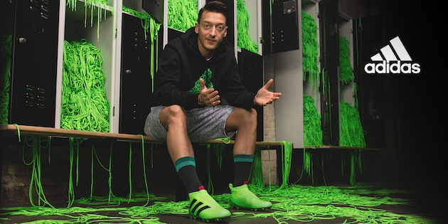 Ozil for adidas ACE 16+ Laceless