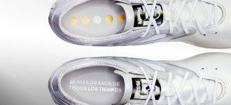 adidas Honors Messi's 5th Ballon d'Or with Platinum 15.1