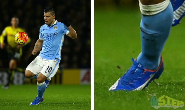 Sergio Aguero Manchester City Puma evoSPEED 13 edited