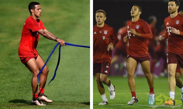 Thiago Bayern Munich edited
