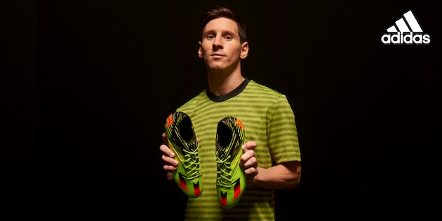 Messi with Messi 15
