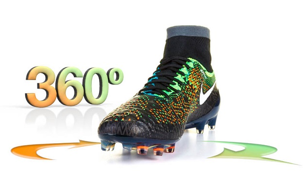360 of Nike Magista Obra Black History Month