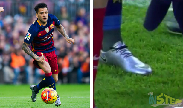 Dani Alves Barcelona custom Vapor X edited