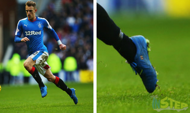 Dean Shiels Rangers custom Tiempo V edited