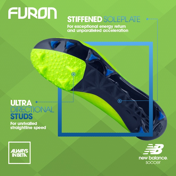 New Balance Furon outsole