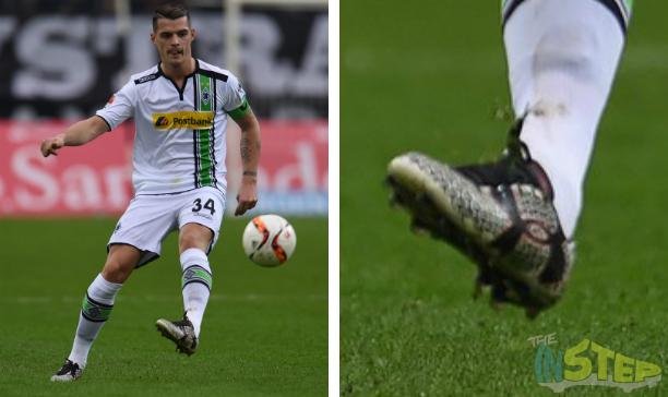 Granit Xhaka Borussia Moenchengladbach UA Clutchfit Force 20 edited