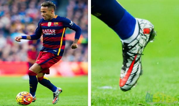 Neymar Barcelona custom Vapor X edited