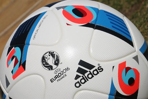 adidas Euro 2016 ball closeup