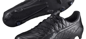 New Puma evoSpeed SL K is Leather Blackout Perfection