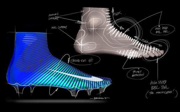 Nike Mercurial Superfly V sketch