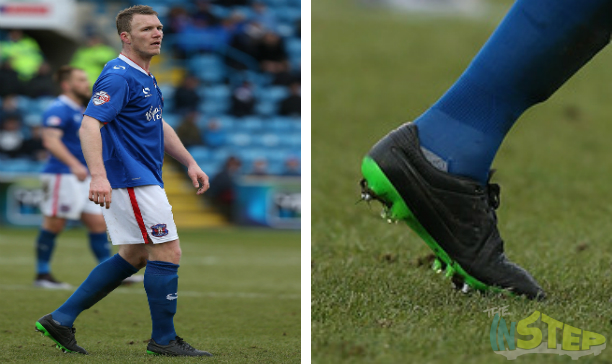 Mark Ellis Carlisle United custom Tiempo V edited