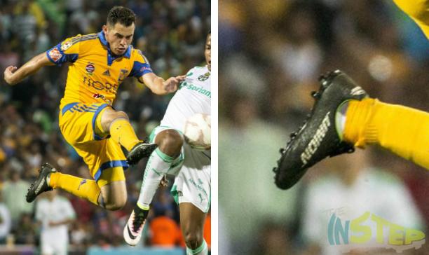 Israel Jimenez Tigres Union soccer boots edited