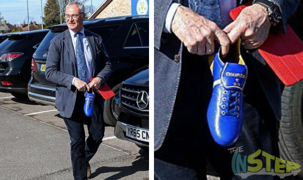 Claudio Ranieri Leicester custom Pantafola Doro edited