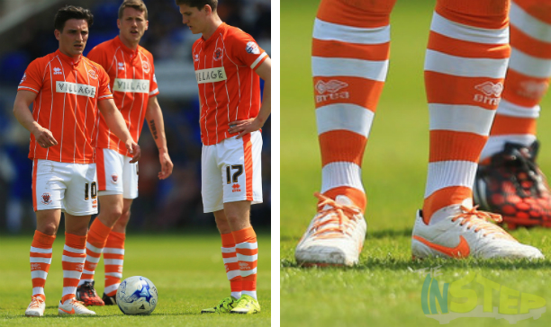 Jack Redshaw Blackpool custom Tiempo V edited