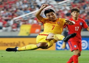 Football Soccer - World Cup 2018 Qualifiers - South Korea v China
