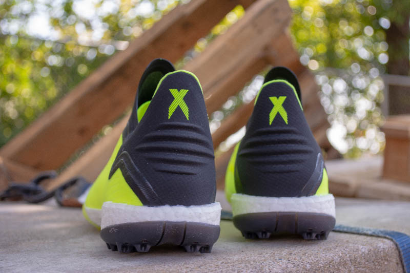 adidas X18+ turf TF tango soccer shoes