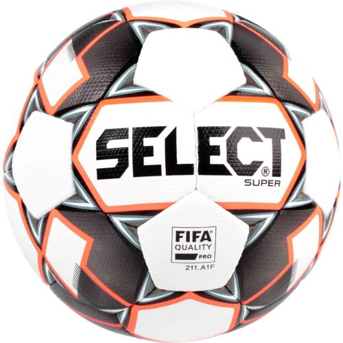 Select Super FIFA Premium Match Soccer Ball – White/Black