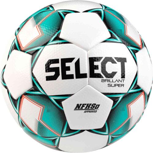 Select NFHS Brillant Super Premium Match Soccer Ball – White & Green