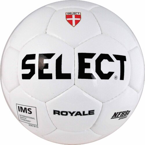 Select Royale NFHS Match Soccer Ball – All White