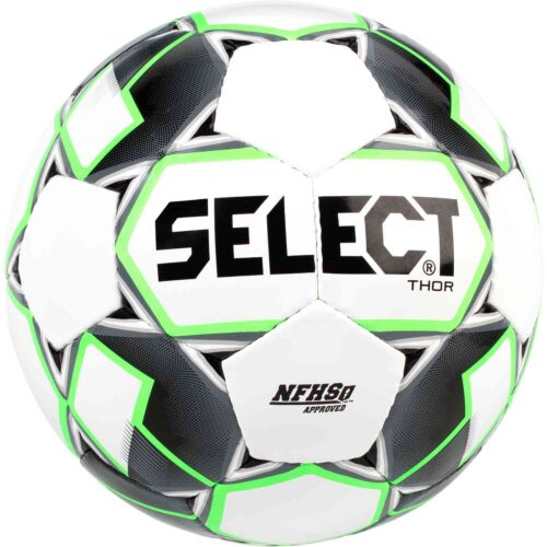 Select Thor Soccer Ball – White/Black